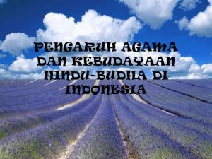 pengaruh budaya hindu budha di indonesia
