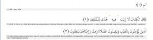 al baqarah 1-3