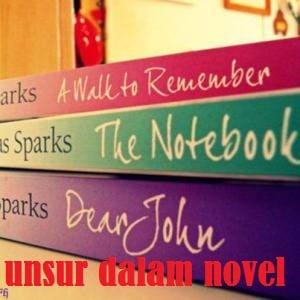 unsur novel