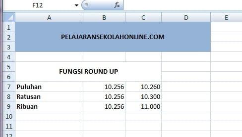 fungsi-round-up