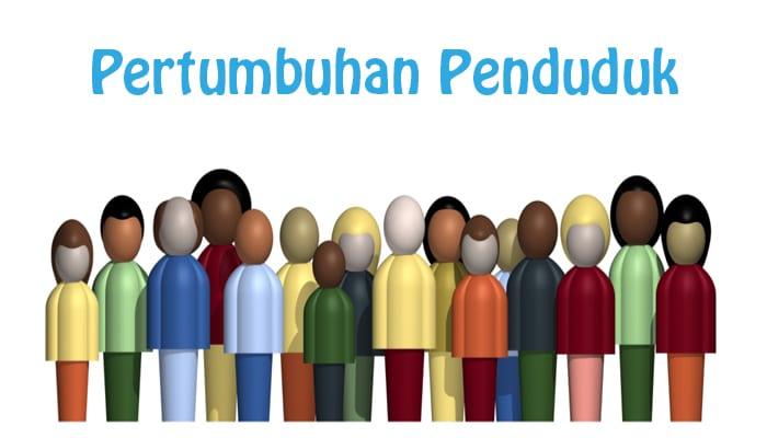 Pengertian Pertumbuhan Penduduk Faktor Macam Macam Rumus Dan Contoh Soal Pertumbuhan Penduduk