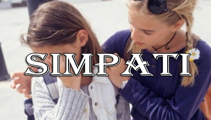 Pengertian Simpati Dan Contohnya Serta Perbedaan Simpati Dan Empati Lengkap Pelajaran Sekolah Online